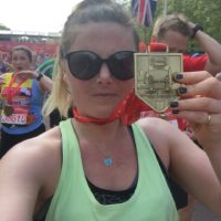 OMC Alumna runs marathon for Oxford Mindfulness Foundation