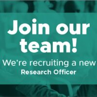 New Research Officer Vacancy – Join our team!